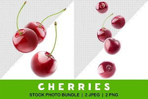 Falling cherries