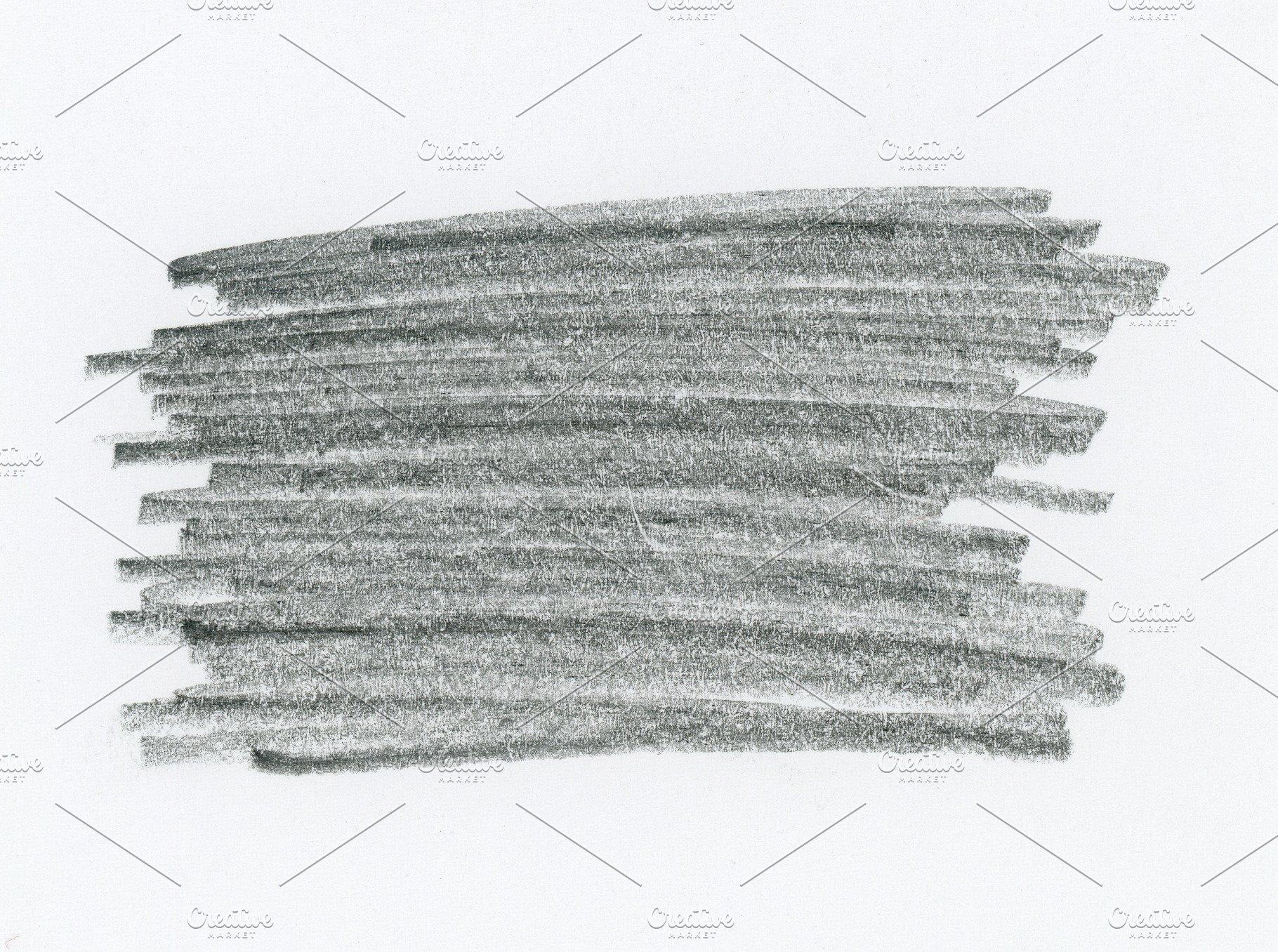 Save black pencil sketch