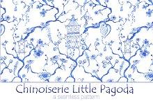 "Chinoiserie ""Little Pagoda"" Pattern"