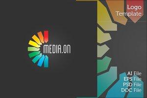 Media Center Logo Symbol