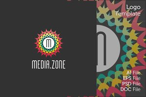 Media Zone Logo Symbol