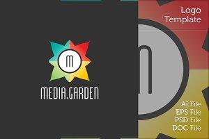Media Garden Logo Symbol
