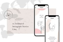 ANIMATED Instagram Stories – Lina by  in Instagram