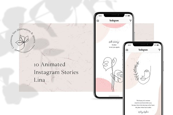 Templates: AgataCreate - ANIMATED Instagram Stories – Lina