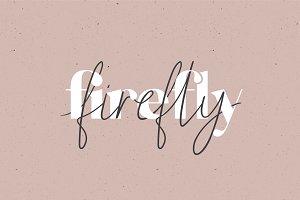 Firefly   A Cute Font Duo