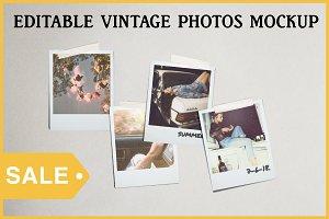 Editable Photo Mockup Psd ON SALE