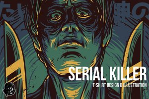 Serial Killer Illustration