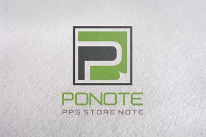 P Letter or Letter P logo template