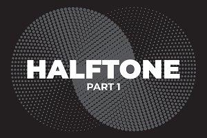 60 Vector Halftones. Part 1