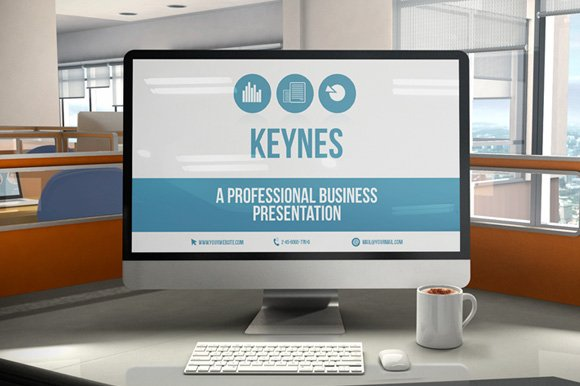 Keynes Corporate Presentation Presentation Templates Creative