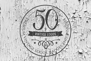 [50% OFF] Vintage Logos Templates