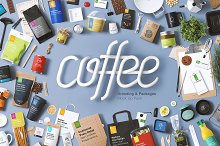 Coffee Branding & Packages Mock Up