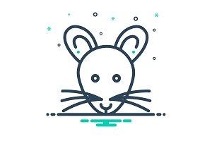 Rat mouse icon