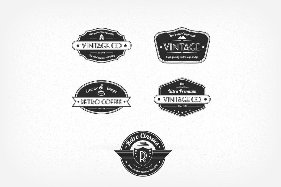 Vintage Logos/Badges
