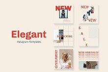 Elegant Instagram by  in Templates