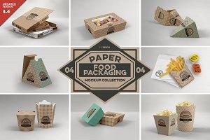 VOL.4: Food Box Packaging Mockups
