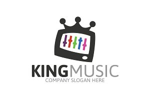 King Music Logo