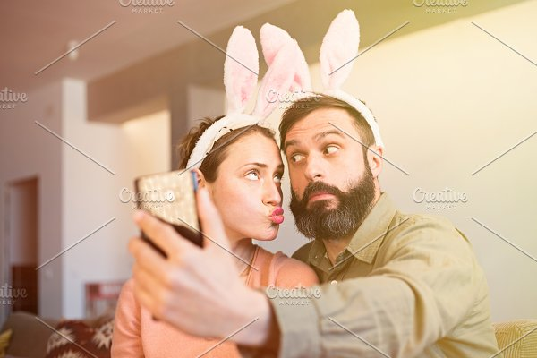 Beautiful Loving Couple Making High Quality People Images