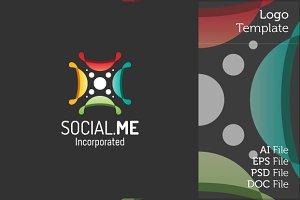 Social Logo Symbol