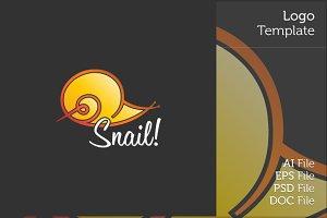 Snail Logo Symbol
