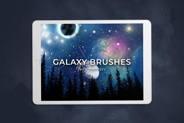 Add-Ons: PETRA BURGER - Galaxy Brushes for Procreate Vol. 2