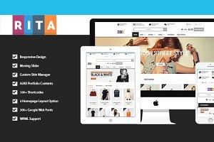 Rita - Responsive Magento Theme