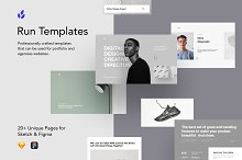 Run Templates by  in Landing Pages
