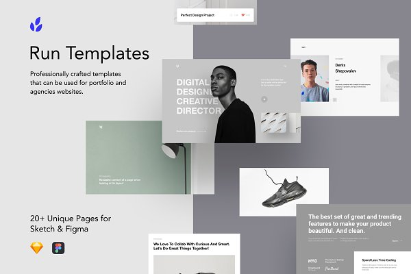 Website Templates: Craftwork Design - Run Templates