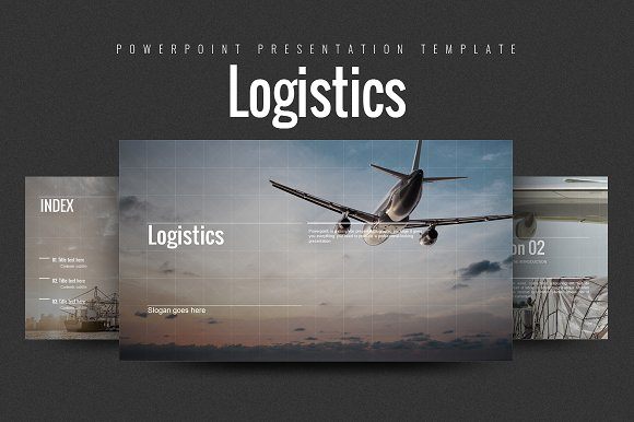 Logistics Presentation Templates Creative Market