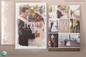 5x7 Joy Celebration Postcard