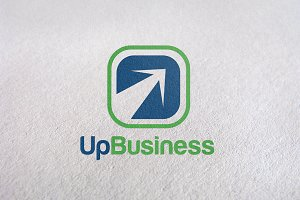 Success Business / Up Business Logo
