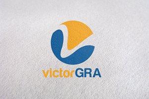V Letter / Letter V or Letter L Logo