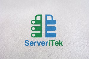Server / Internet Network Logo