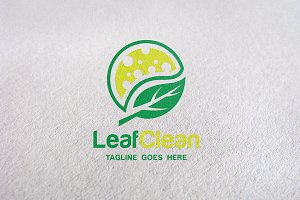 Leaf / Green / Natural / Clean Logo