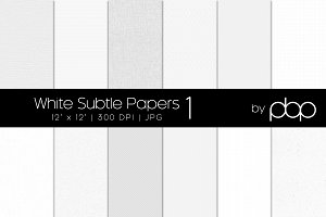 White Subtle Papers 1