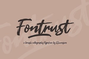 Fontrust Script