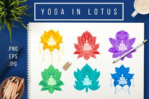 Yoga In Lotus
