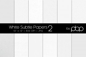 White Subtle Papers 2