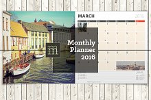 Monthly Planner 2016 (MP03)