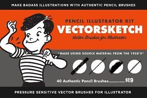 VectorSketch | Illustrator Brushes