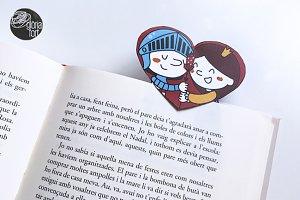 Sant Jordi _ bookmark