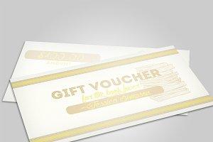 Book gift voucher