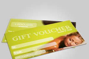 SPA&Beauty gift voucher