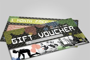 Fitness voucher