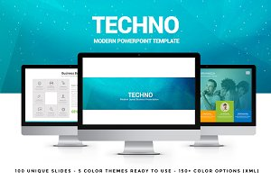 Techno Powerpoint Template