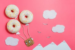 Donut, Creative Food Minimalism