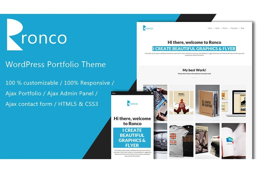 Ronco - Portfolio WordPress Theme