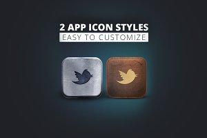 App Icon Styles