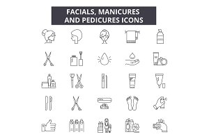 Facials, manicures and pedicures