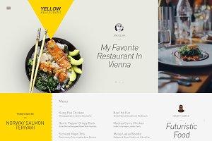 Yellow - Website PSD